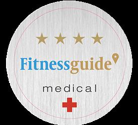 """Wir sind ein """"4 Sterne medical"""" Trainings- und Therapie-Center"""